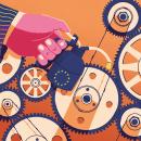 Portada del suplemento Negocios de El País 30/05/2021. Um projeto de Ilustração, Esboçado, Desenho e Ilustração digital de Daniel Crespo Saavedra - 30.05.2021