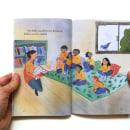 Las palabras de Kensia, libro en donde soy autora e ilustradora.. Um projeto de Ilustração, Animação, Artes plásticas, Design gráfico, Escrita e Pintura em aquarela de Antonia Roselló Rodríguez - 01.06.2021