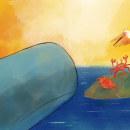 Libro ilustrado Plasticón y la invasión Bolsígena. Um projeto de Design, Ilustração, Escrita e Pintura em aquarela de Antonia Roselló Rodríguez - 01.06.2021