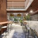 Diseño restaurante . Um projeto de Arquitetura de interiores de Valeria Rojas - 01.02.2021