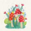 Ilustraciones para e-book. Un proyecto de Ilustración de Luciana Feito - 02.06.2021
