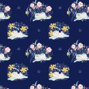 Diseño de pattern: Bloom. Un proyecto de Diseño, Ilustración y Pattern Design de Luciana Feito - 31.05.2021