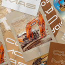 Identidad Corporativa Excavaciones Blanco. Um projeto de Design, Br e ing e Identidade de Kike Martínez - 01.02.2021