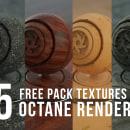 FREE TEXTURES 4K OCTANE RENDER by Oscar creativo. Um projeto de Ilustração, Publicidade, 3D, Animação 3D, Modelagem 3D, Design de personagens 3D, 3D Design, Lettering 3D e Tingimento Têxtil de Oscar Creativo - 06.06.2021