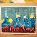 """Mi Proyecto del curso: """"You can call me Stevie"""". Um projeto de Ilustração, Pintura, Criatividade e Pintura Acrílica de Maria Exposito Gil - 07.06.2021"""