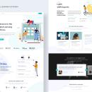 Digital Learning Platform. A Design, and Web Design project by Shyamani Gunathilaka - 06.07.2021
