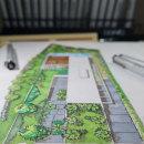 Planta baixa humanizada - Landscape Design . Um projeto de Ilustração, Arquitetura, Arquitetura de interiores e Arquitetura digital de Marcelo Marttins - 08.06.2021