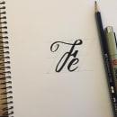 Mi Proyecto del curso: Introducción al script lettering. Un proyecto de Lettering, Brush painting, H y lettering de Eleazar Castro - 09.06.2021