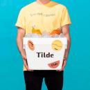 Tilde. Un projet de Design , Br, ing et identité, Design graphique, Design industriel , et Naming de VVORKROOM - 07.06.2021