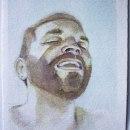 Mi Proyecto del curso: Retrato artístico en acuarela. A Fine Art, Painting, Watercolor Painting, Portrait illustration, and Portrait Drawing project by Saúl Rivas - 06.09.2021