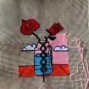 My project in Cross-Stitch Creation course. Un proyecto de Ilustración, Bordado, Ilustración textil y Decoración de interiores de Janaina da Veiga - 31.05.2021