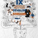 Doodle sobre Osvaldo Soriano. Um projeto de Ilustração, Ilustração vetorial e Ilustração digital de Franco Dall'Oste - 06.06.2021