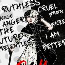 Cruella De Vil. Un proyecto de Ilustración, Cómic y Dibujo digital de Guillermo Eguizabal - 27.05.2021