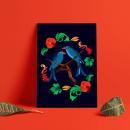 Mi Proyecto del curso: Ilustración flat con Photoshop. Un proyecto de Ilustración, Ilustración digital y Pintura digital de Isabella Lesmes - 10.06.2021