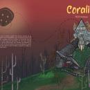 Ilustración editorial sobre el cuento de ''Coraline''. Un proyecto de Ilustración de Eva Soler - 12.06.2021