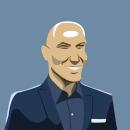 Zinedine Zidane. Un proyecto de Ilustración de Francisco Bonett - 12.06.2021