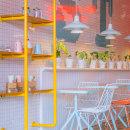 Heladería Soft touch. Um projeto de Design, Arquitetura de interiores, Design de interiores, Design de iluminação, Design de produtos e Decoração de interiores de Laura Palacio - 15.04.2016