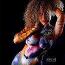 TIGER - BODY PAINTING - ANUBIS VRUSSH por ANUBIS VRUSSH @anubisvrussh. Un proyecto de Publicidad, Fotografía, Cine, vídeo, televisión, Moda, Redes Sociales, Diseño de moda, Fotografía de moda, Fotografía digital y Fotografía artística de ANUBIS VRUSSH - 15.06.2021