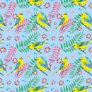 Aves / Reinita Cabecidorada . Un proyecto de Pattern Design e Ilustración textil de María Andrea Pinzón - 05.07.2020