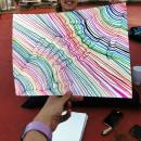 Manos y diversion #pridemonth. Um projeto de Desenho a lápis, Desenho, Criatividade para crianças e Sketchbook de Neus Gual sangüesa - 16.06.2021