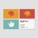 Centro de conservación. Zoo de Córdoba. Un progetto di Direzione artistica, Br, ing e identità di marca, Graphic Design, Web Design , e Design di loghi di Bee Comunicación - 17.06.2021