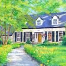 Acrylic Painting Commissions 2020. Un proyecto de Pintura acrílica y Pintura de Page Biersdorff - 18.06.2021