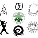 Commissioned Logos 2015 - 2019. Un proyecto de Diseño de logotipos de Page Biersdorff - 18.06.2021