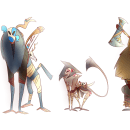 Mi Proyecto del curso: Introducción al diseño de personajes para animación y videojuegos. A Illustration, Animation, Character Design, Video game, and Game Design project by Martina Reynoso - 06.14.2021