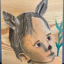 My project in Watercolour on Wood course. Un progetto di Illustrazione, Belle arti , e Pittura ad acquerello di Linda Ekvall - 20.06.2021