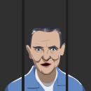Hannibal Lecter. Un proyecto de Ilustración de Francisco Bonett - 21.06.2021