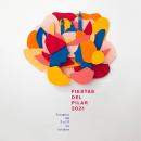 Fiestas del Pilar 2021. A Design, Illustration, Plakatdesign und Kommunikation project by 12caracteres - 10.06.2021