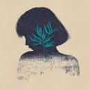Never seek to tell thy love (illustrated poem). Un proyecto de Ilustración y Dibujo digital de Valeria Araya - 22.06.2021
