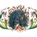 Mi Proyecto del curso: Ilustración surrealista inspirada en la naturaleza. Un proyecto de Ilustración, Dibujo a lápiz, Dibujo, Dibujo artístico e Ilustración naturalista de Viridiana Benitez Mendoza - 18.06.2021