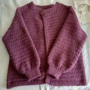 Mi Proyecto del curso:  Top-down: prendas a crochet de una sola pieza. Un proyecto de Moda, Diseño de moda, Tejido, DIY y Crochet de Inés Callejón - 19.06.2021