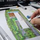 Planta Baixa Humanizada . Um projeto de Design, Ilustração, Desenho e Sketchbook de Marcelo Marttins - 23.06.2021