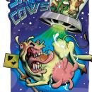 Save the cows. Um projeto de Ilustração, Design gráfico e Ilustração digital de germandauber - 23.06.2021