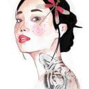 Mi Proyecto del curso: Retrato en acuarela a partir de una fotografía/ Vision. Um projeto de Ilustração, Pintura em aquarela, Ilustração de retrato e Desenho de Retrato de Mariana Quinteros - 31.03.2021
