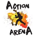 Action Arena Logo. Un proyecto de Diseño de logotipos de Mansoor Khalid - 02.04.2016