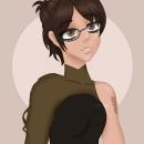 Mi Proyecto del curso: Retrato de personajes femeninos con Procreate. Un proyecto de Ilustración, Ilustración digital, Ilustración de retrato y Dibujo digital de Xime Camacho - 27.06.2021