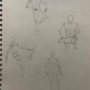 Dibujo anatómico para principiantes. Un proyecto de Bellas Artes, Bocetado, Dibujo a lápiz, Dibujo, Dibujo realista y Dibujo anatómico de Abihu Flores Martinez - 21.06.2021