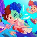 """""""Just have fun!"""" - Luca. Un proyecto de Ilustración y Dirección de arte de Oskar Acosta - 23.06.2021"""
