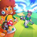 """""""Daisy/Luigi Golf"""". Un proyecto de Ilustración y Dirección de arte de Oskar Acosta - 29.06.2021"""