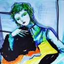 Fashion Ilustracion. Um projeto de Moda e Ilustração de Sonja Llamas - 29.06.2021