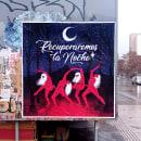 Recuperaremos la Noche. Un proyecto de Ilustración, Instalaciones y Arte urbano de Valeria Araya - 29.06.2021