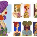 Fresh Beauty collection by Ana Novo. Un proyecto de Ilustración, Motion Graphics y Publicidad de Ana Novo - 16.06.2021