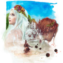 Four Seasons. A Illustration, L, schaftsbau und Porträtillustration project by Mentiradeloro Esther Cuesta - 30.06.2021