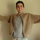 Mi Proyecto del curso:  Top-down: prendas a crochet de una sola pieza. Un proyecto de Moda, Diseño de moda, Tejido, DIY y Crochet de Hugo David Barrera - 03.07.2021