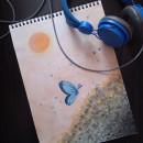 Mi Proyecto del curso: Colores en acuarela: descubre tu personalidad cromática. Un proyecto de Ilustración, Bellas Artes, Pintura, Pintura a la acuarela y Teoría del color de Claudia Leonela Valladares Millán - 04.07.2021