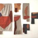 sobre tecer manhãs, 2020, lã e fio de algodão, 150x250cm. A Fine Art project by juliana maia - 07.01.2021