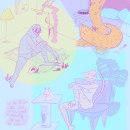 Fanzine - Poesía Millennial. Un proyecto de Ilustración, Collage y Dibujo digital de Antonella Tracchia - 05.07.2021